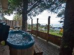 Romantic Couples Only! Ocean view house w/hot tub