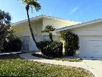 Longboat Key updated 4 BR canal front pool home