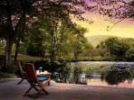BLUEBELL STUDIO, Forest of Bowland, Lancashire