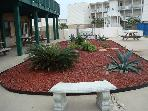 """Sunset Haven"" sleeps 2 with direct ocean views, in the heart of Port Aransas"