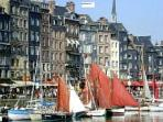 Honfleur waterside apartment