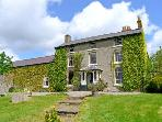 GREAT ALDER HOUSE, 18th century, stone built property, four bedrooms, garden, rural location, in Llangynhafal, Ref 16443