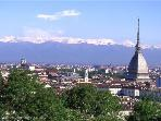 Turin hill panoramic view