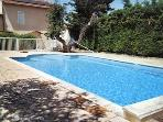 Montagnac villa with pool- 730