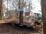 Vintage Airstream in Perigord