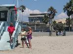 2 bed Sleeps 12  on Venice Boardwalk Ocean Views
