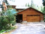 Spacious Tahoe cabin - pool table, playground.