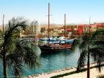 Marina view  Aqaba the Red Sea
