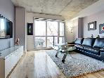 Beautiful cozy  &amp; luxurious all-included condo in Griffintown with a modern desing, quality furnitures and premium services
