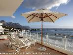 Cape Town: Clifton. Stunning airconditoned sea facing apartment on the beach. Best position in Clifton.