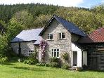 The Lodge Cottage, set in Welsh border uplands