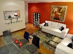 Heart of Miraflores, Lima - Peru, 2 Bedrooms unit .