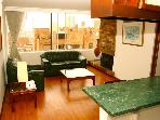Bright 1 Bedroom Apartment in Rosales, Bogota