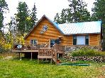 Rustic 3BR Cabin on Secluded Lot in Black Hills w/BBQ Grill, Deck, & Gorgeous Scenery