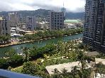 Best Location in Waikiki! Quiet 3BR Ocean View Condo Walking Distance from the Beach