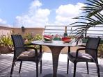 2 rooms penthouse near sea