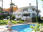 Great house by the sea. Malaga
