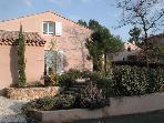 villa in the Provence near golf course and sea