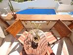 CASA DEL SOL B2 sunny, bright condo with pool view