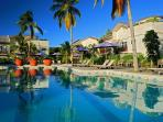 Christmas in the Caribbean - beach villa with pool
