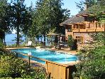 Point Williams Lodge . Oceanfront . Pool . Hot Tub