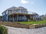 Beach front villa on the Northumberland