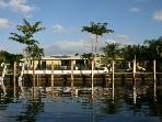 Waterfront, private pool, canoe, dock. Near beach.