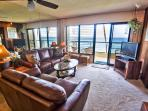 Poipu Shores 201A 2BR Oceanfront. Updated.