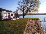 Lake Front Beach Home W/ Guest House sleeps 8 NICE