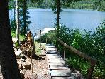 Aspen Shores Cabin on Spoon Lake near Glacier National Park