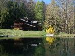 Beautiful Setting with Private Pond and Stream