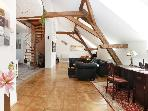 Attic Hastalska - Luxury three bedroom apartment