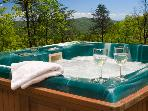 Cliffhanger -Unbeatable Mountain View from Hot Tub