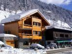 Duplex in the center of Meribel near to the slopes