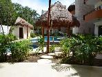 Casa Pelicano - 2bdrm condo  with beautifully tiled pool steps from your door! Summer rate available!