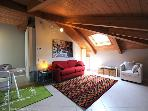 44 Sqm Attic in the Old Turin