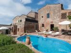 3BDR cosy house  in the countryside near Siena