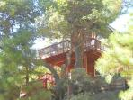 Beautiful Red Cabin in Running Springs