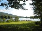 Charming Berkshires lakefront house, great views