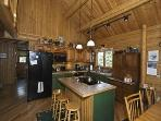 Saddleback Lake Rental Private 4-season Log Home