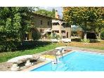 Charming Tuscan villa only 2,5km from AREZZO with heated pool and much comfort