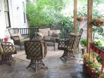 Sleeps 6-8; lots of rooms;great party patio/garden