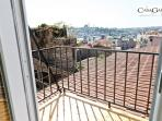 Cool Studio With Balcony & Golden Horn View