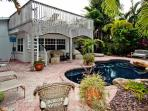 Island Oasis: 2BR/2BA Canal Home with Pool and Dock