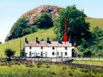CARREG GLEISION, pet friendly, character holiday cottage, with open fire in Manod, Ref 1583