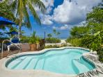 Exclusive three bedroom beachfront villa