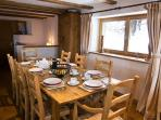 Romantic Ski In - Ski Out Chalet with Sauna in M?ribel Ski Resort