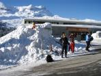 Ski Appartment for rent in the French Alps