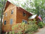 CAROLE`S CABIN~3 BEDROOMS/3 BATHROOM~SLEEPS 6~GAS GRILL~WIFI~NETFLIX~VIEW OF FIGHTINGTOWN CREEK~SORRY, NO SAT TV AVAILABLE~$99/NIGHT
