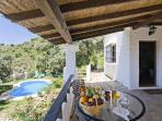 Secluded 2 BD Villa with pool